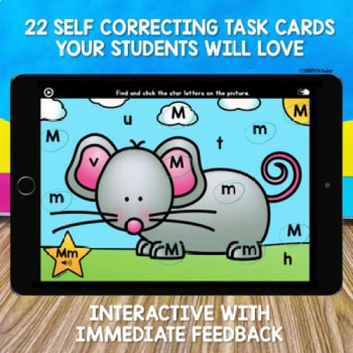 22 self correcting task cards