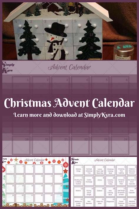 Are you debating making a Christmas advent calendar? Here is how easy it is! And if you want to plan ahead I have a free downloadable PDF up on the blog.