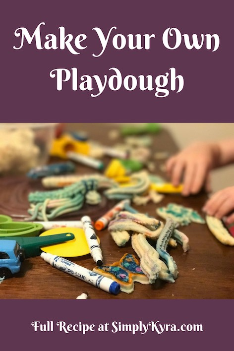 Make our go to playdough recipe and never buy it again. It's so simple, soft, customization, and so much fun to play with.