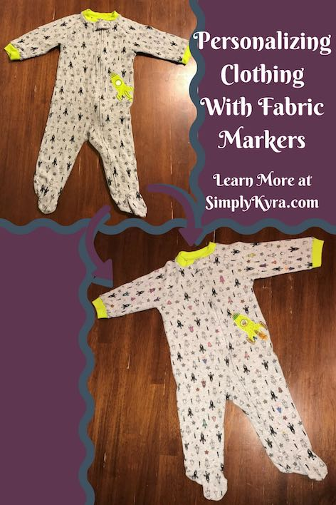 Easily customize your clothing and send the message you want to send with fabric markers.