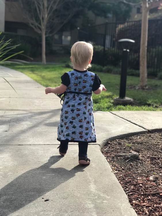Perfect dress for going for a walk in.