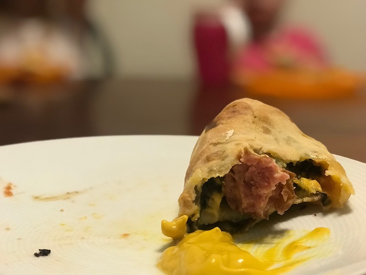 Or keep it simple with just the sausage roll and accompanying condiment (dip).