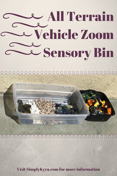 All Terrain Vehicle Zoom Sensory Bin