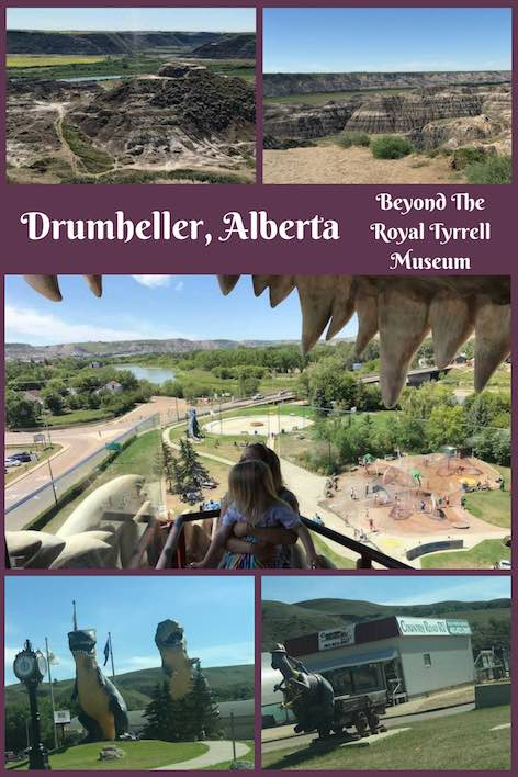 Drumheller, Alberta... an epic place located within the Canadian Badlands. Come for the Royal Tyrrell Museum and stay for so much more.