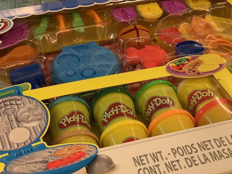 Unopened large barbecue Play-Doh set bought from Costco.