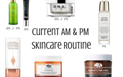 My CURRENT Skincare Routine (Morning + Night)