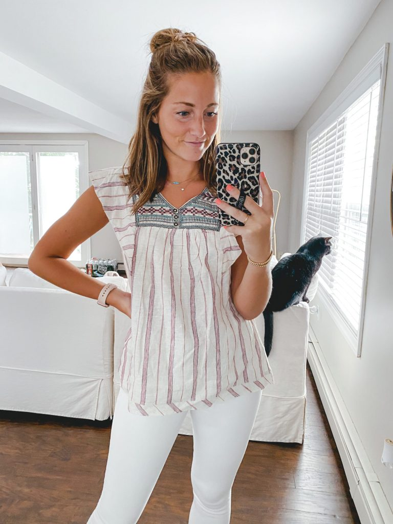 Target Try on Haul in my New House!