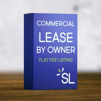 Commercial lease by owner flat fee georgia atlanta