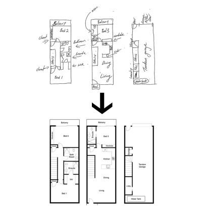 floor plan diagram creation
