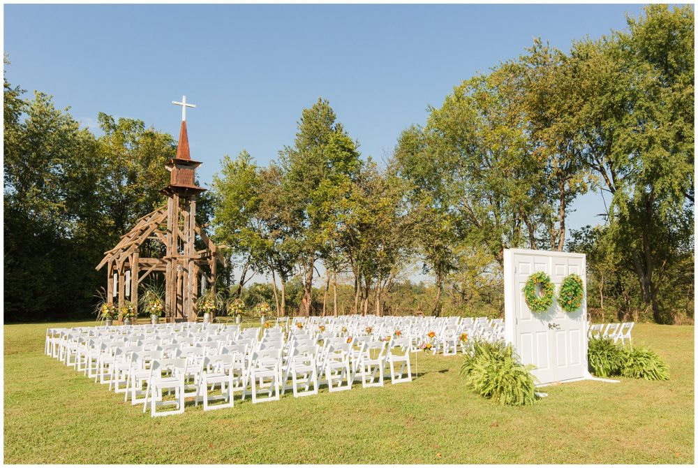 Stunning Outdoor Wedding Ceremony And Reception On A Family Farm In