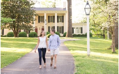 May Engagement Session at Keeneland Racecourse in Lexington, KY
