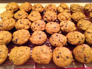 Pumpkin Chocolate Chip Muffins 2