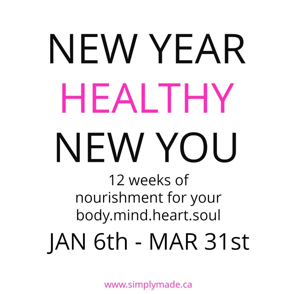 NEW YEAR HEALTHY NEW YOU