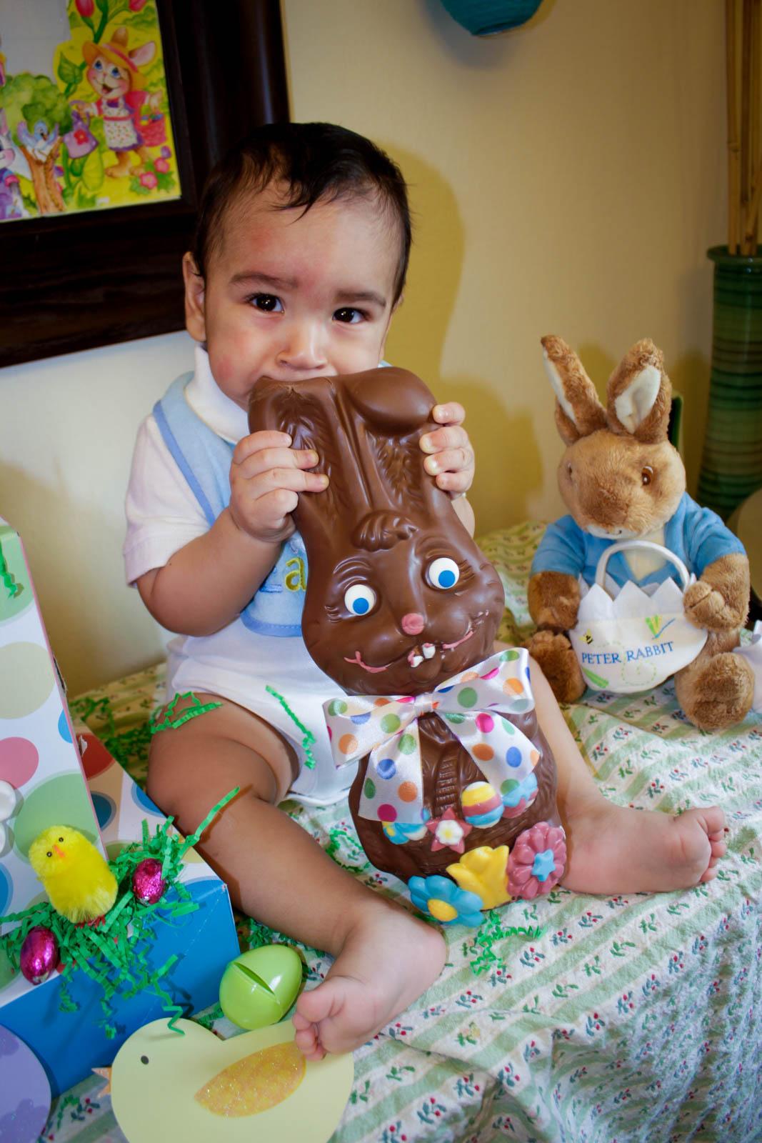 Easter Dessert Display: Logan's First Easter