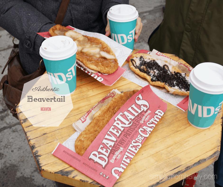 Beavertail snacks in Ottawa at Byward Market