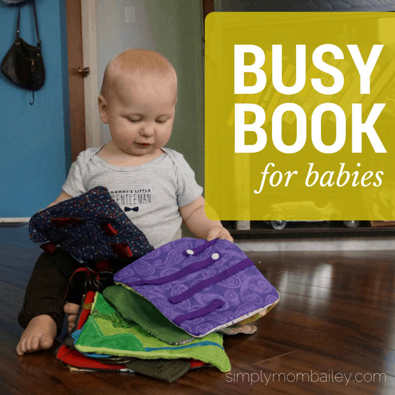 DIY Busy Book for Babies