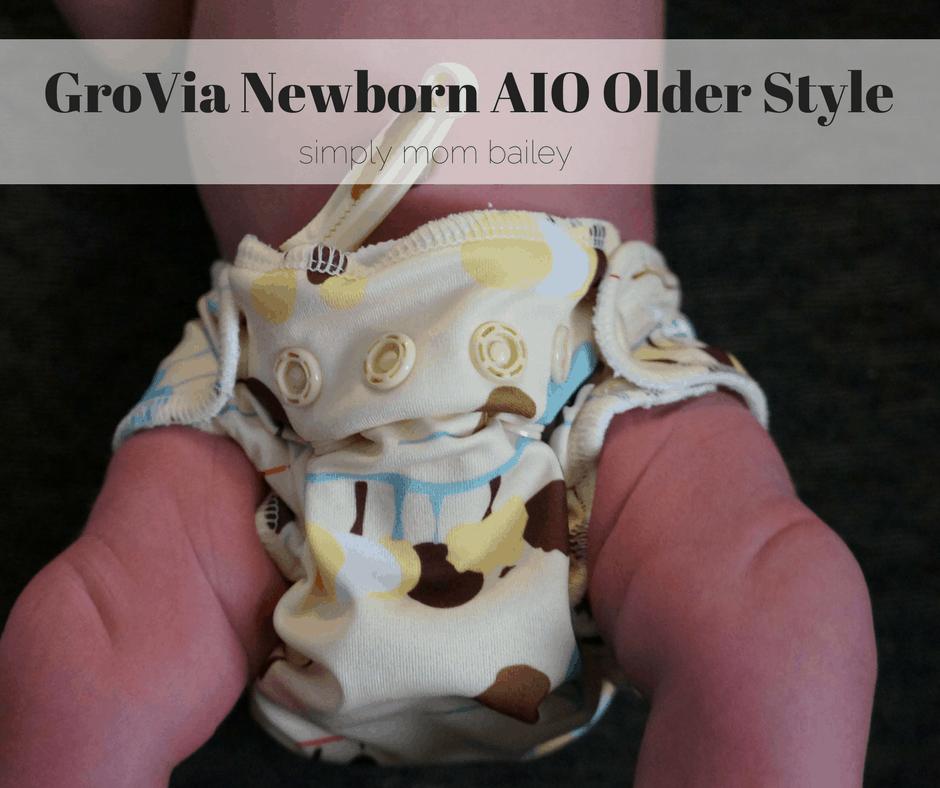 GroVia Newborn AIO Older Style