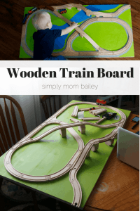 Wooden Train Board