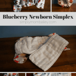 Newborn Diapers – Blueberry Newborn Simplex {Review}