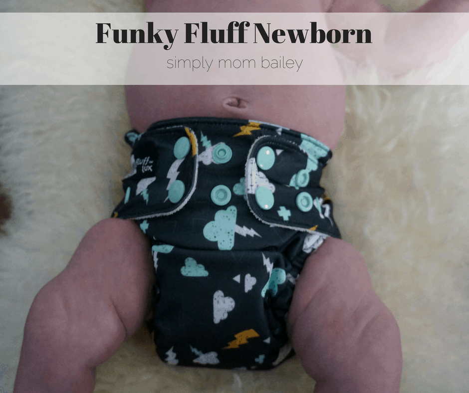 Funky Fluff Newborn Diaper