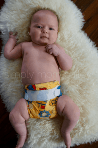 Newborn AIO Cloth Diapers at 12 Pounds bumgenius littles