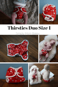 Thirsties Duo Size 1 newborn cover