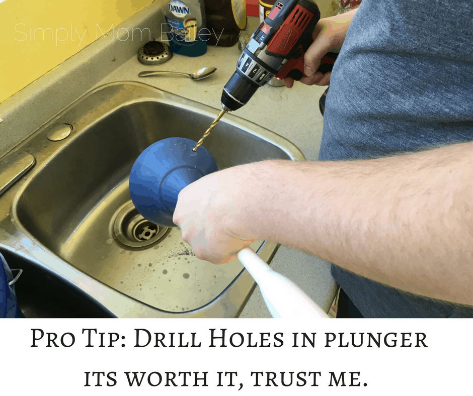 Pro Tip_ Drill Holes in plunger its worth it, trust me.