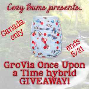 GroVia Once Upon A Time Giveaway with CozyBums