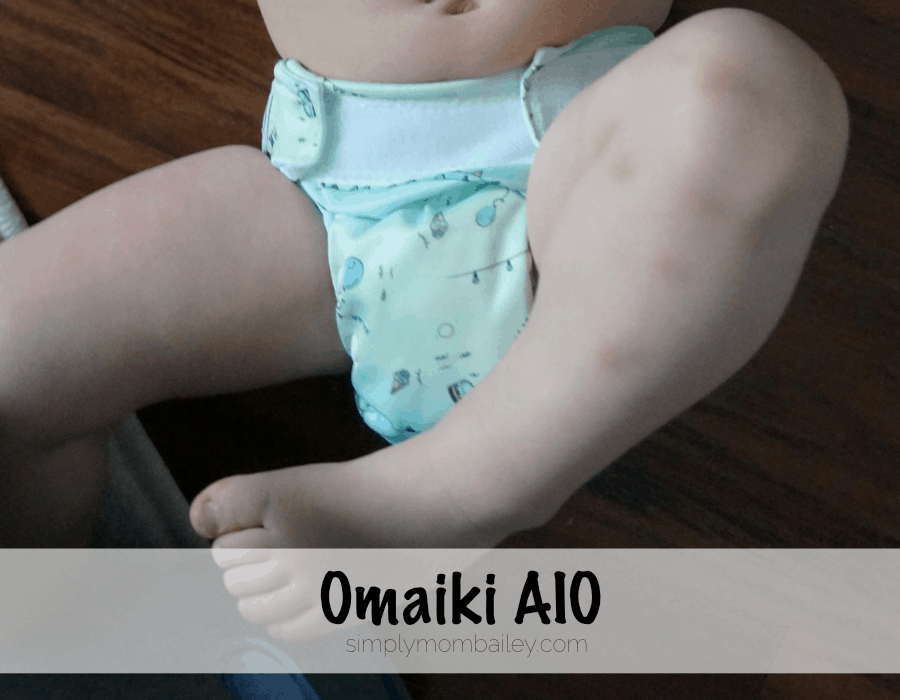 Cloth Diapers at 30 pounds Omaiki.