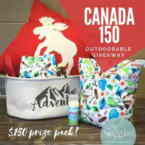 Nuggles Outdoorable Giveaway - Canada 150