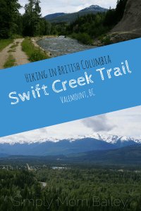Swift Creek Trail, Valemount, BC, Hiking BC