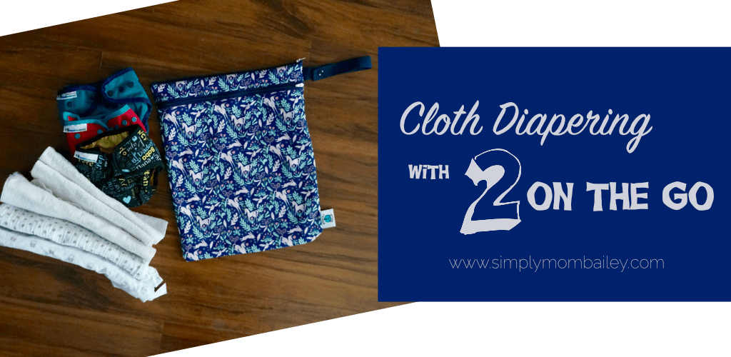 Cloth Diapering 2 on the Go with Planet Wise Wet:Dry Bag