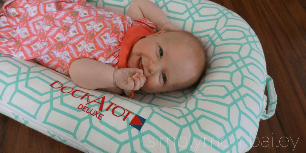 DockATot Product Review - Sleeping Babies