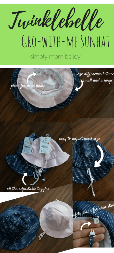 Twinklebelle Gro-with-me sunhat
