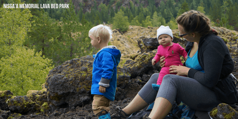 Nisga'a Memorial Lava Bed Park #ExploreBC - Things to do around Terrace, BC - Travel Canada - Hiking in British Columbia - Lava Fields - Nass Valley - BC Culture