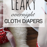 Leaky Overnight Cloth Diapers