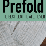 For the Love of Prefold Cloth Diapers: Bummis Prefold