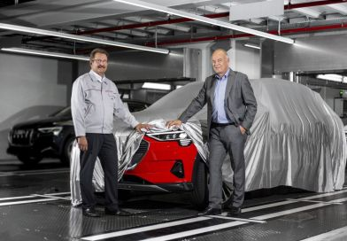 Audi e-tron begins production in Brussels
