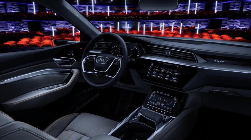 Audi CES entertainment technology