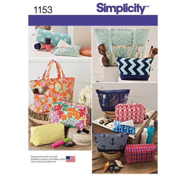 1153 simplicity accessories pattern 1153 a envelope