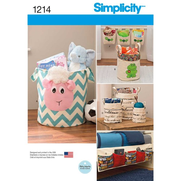 1214 simplicity home decor pattern 1214 a envelope