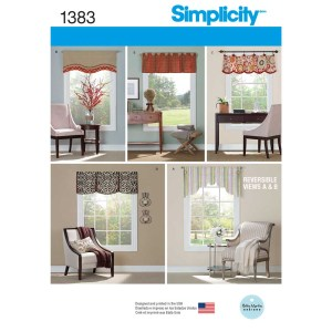 1383 simplicity home decor pattern 1383 a envelope