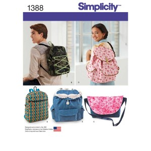 1388 simplicity accessories pattern 1388 a envelope