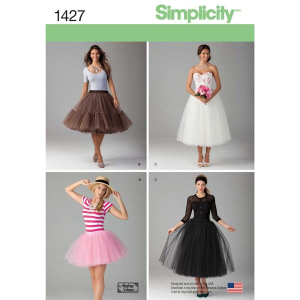 1427 simplicity skirts pants pattern 1427 a envelope