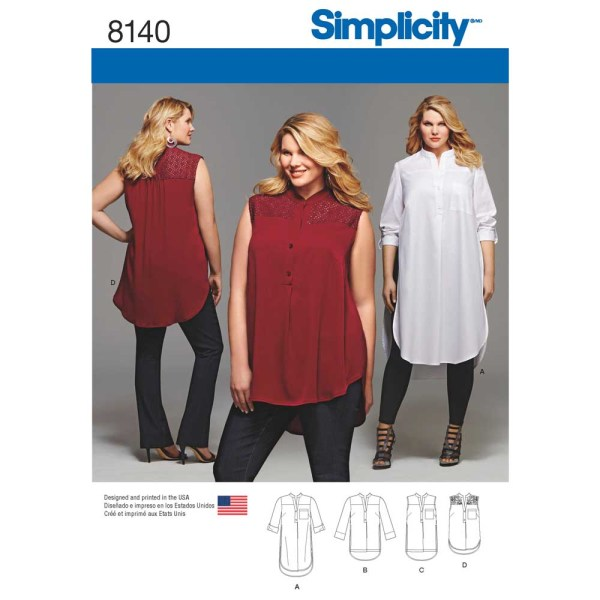 8140 simplicity plus sizes pattern 8140 a envelope