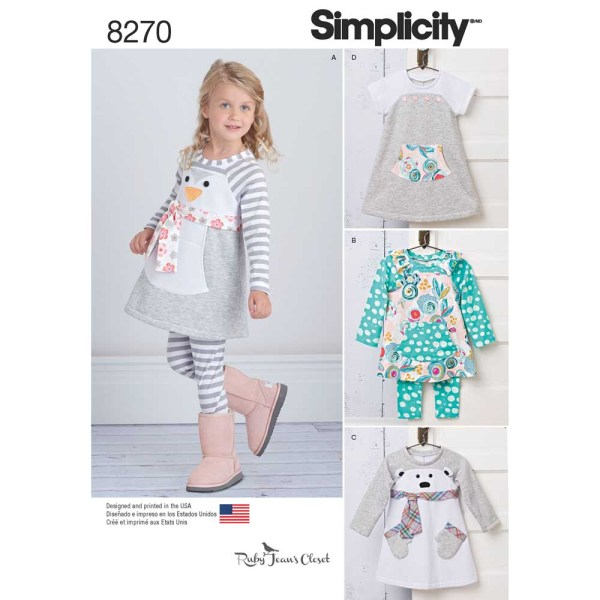 8270 simplicity children pattern 8270 a envelope