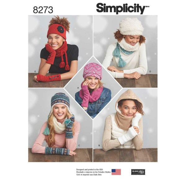 8273 simplicity accessories pattern 8273 a envelope