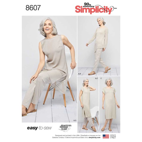 8607 simplicity easy separates pattern 8607 a envelope