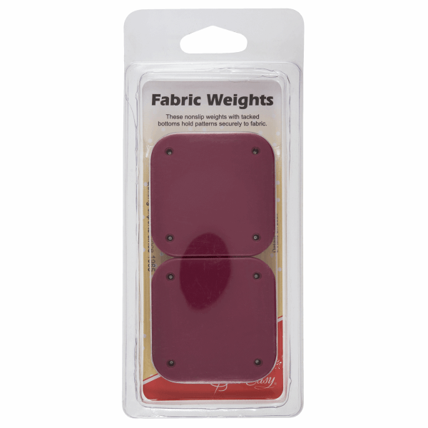 Fabric weights
