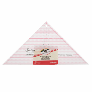 Quilting 90 Degree Triangle 7.5 x 15.5in png